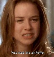 renée zellweger movie list you had me at hello gifs find share on giphy