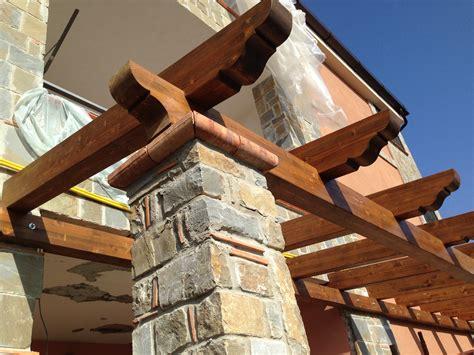 costruzione tettoie in legno tettoie in legno pino costruzioni casal velino sa