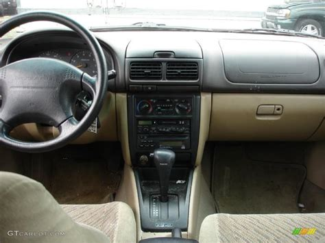 1999 subaru forester interior 1999 acadia green subaru forester s 30431899 photo 12
