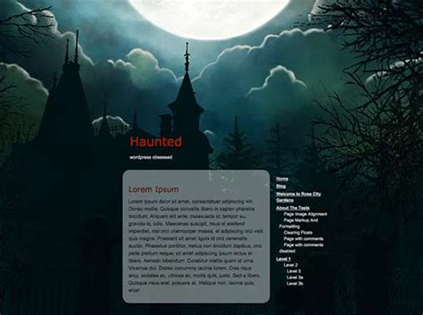 blogger themes gothic 21 best free dark wordpress themes