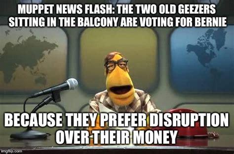 Muppet Memes - muppet news flash imgflip
