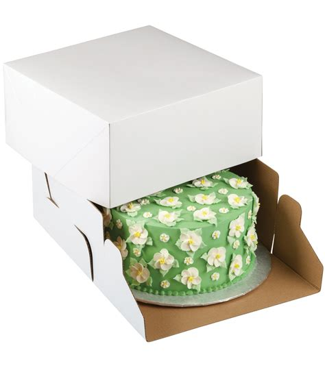 10 Inch Square Cake Box - corrugated cake boxes wilton 12 inch white square