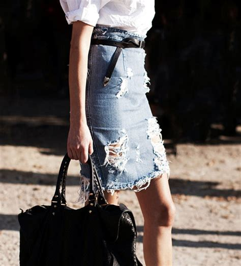 the distressed denim skirt flip and style australian