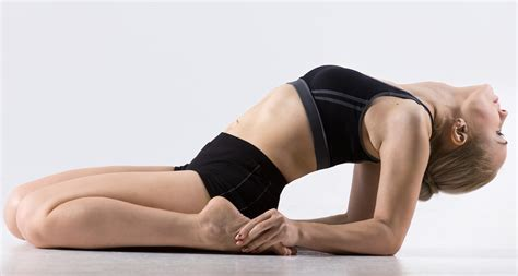 Reclining Lotus Position by 4 Restorative Postures For Dancers