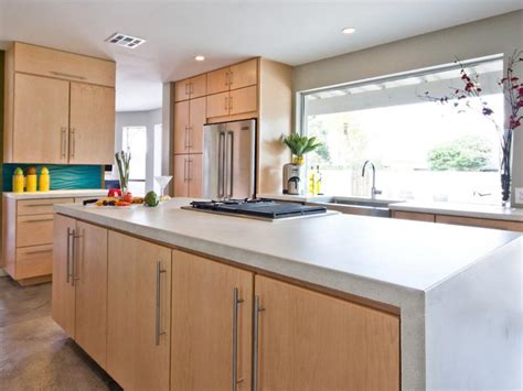 Concrete Countertops Kitchen Concrete Kitchen Countertop Options Hgtv