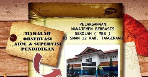Administrasi Sekolah Dan Manajemen Kelas H Sudarwan Danim Buku P debby s contoh laporan hasil observasi manajemen berbasis sekolah