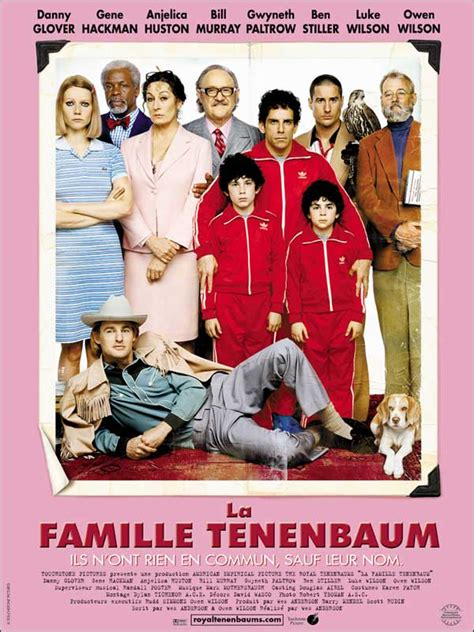 film comedie familiale la famille tenenbaum film 2001 allocin 233