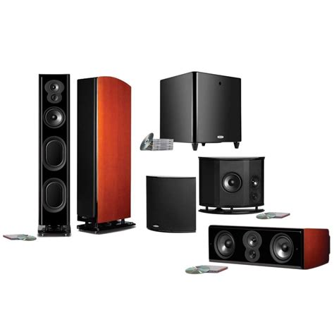 polk audio lsim707 5 1 home theater system 683192103836 ebay