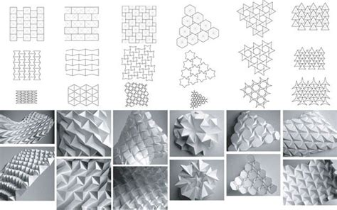 Origami Folding Patterns - rigid paper forms daniel o connell 3d paper and paper