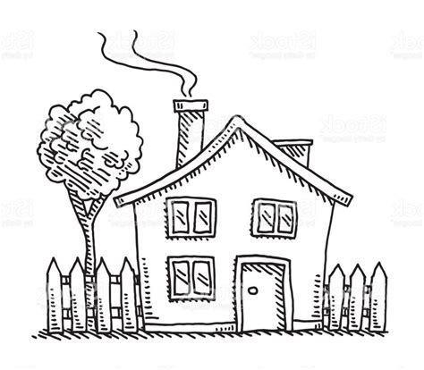 house design cartoon best little cartoon house drawing vector design
