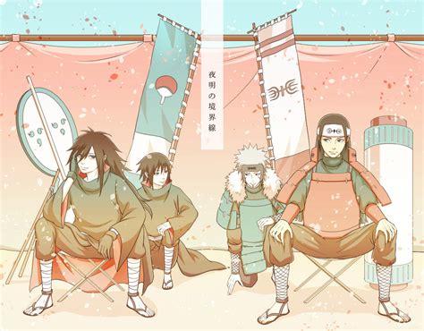 Jaket Senju Senju Vs Uciha image 1580223 zerochan anime image board