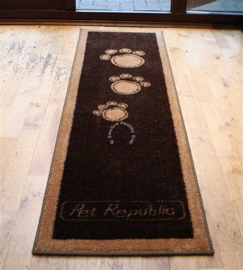 Rugs For Dogs by Pet Rebellion Runner Stylish Floor Mat Cat