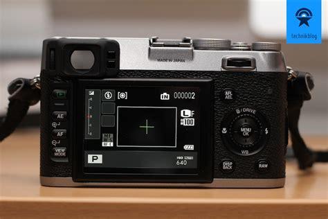 Kamera Fujifilm X100 testbericht fujifilm finepix x100 lichtstarke retro kamera