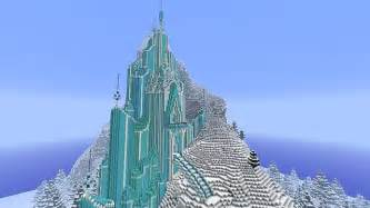 Frozen elsa s ice castle minecraft building inc