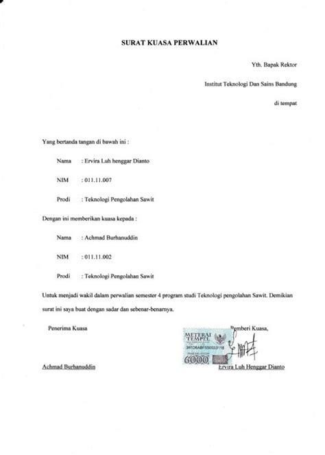 Contoh Surat Kuasa Buatan Tangan by 14 Contoh Surat Kuasa Khusus Pengambilan Bpkb Ijazah