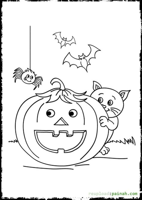 coloring pictures of halloween spiders halloween spider coloring pages coloring home