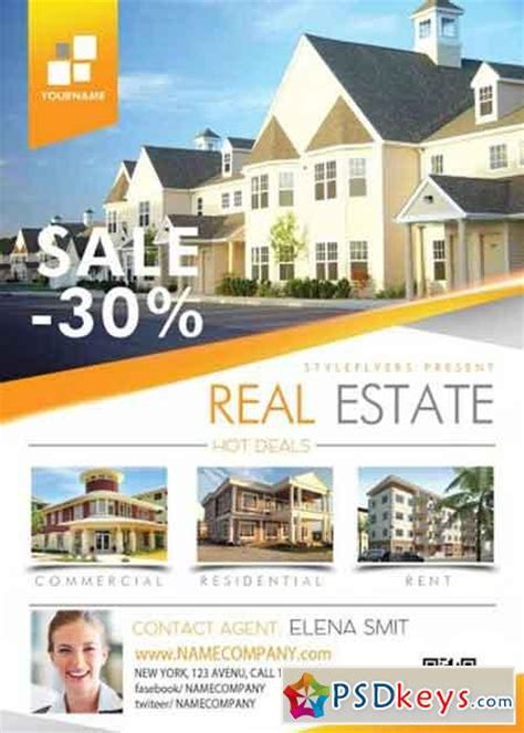 real estate flyer templates for photoshop real estate psd flyer template 187 free download photoshop