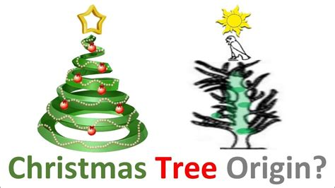 origin of the christmas tree bbc the true origin of the tree
