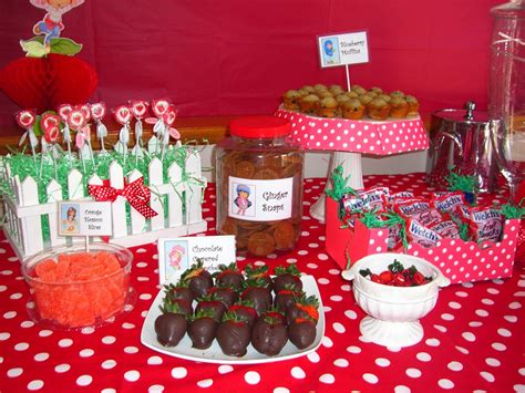 home confetti strawberry shortcake   day party