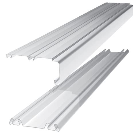 Sliding Door Tracks For Wardrobes by Standard Large White Sliding Wardrobe Door Track L 3607mm