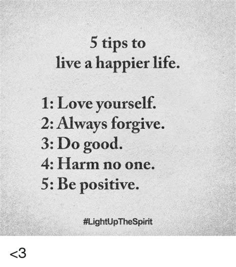 tips    happier life  love   ways