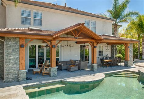 luxury outdoor patio cover modern los angeles
