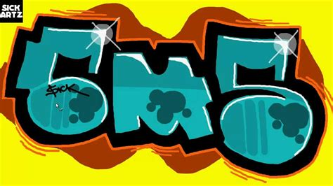 draw graffiti cms speed painting letters ms paint