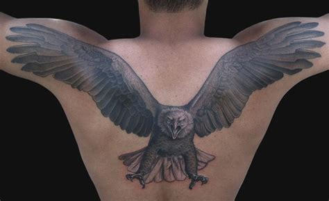 back eagle tattoo designs eagle tattoos