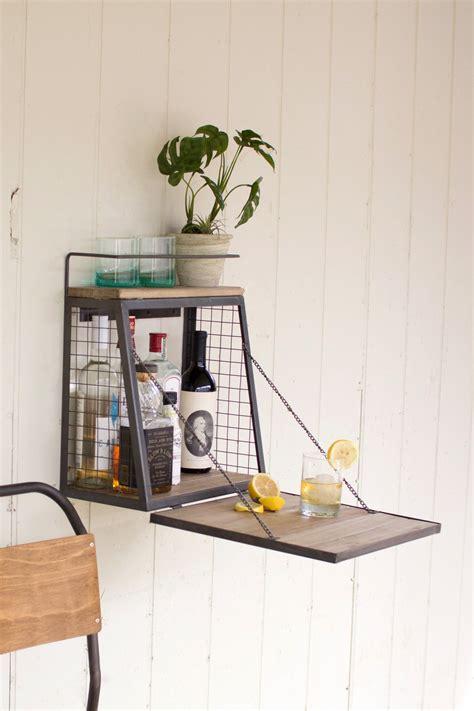 liquor cabinet  fold  shelf