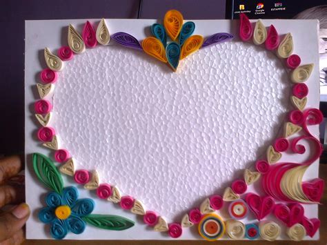 How To Make Paper Quilling Frames - 18 best photos of paper quilling photo frame designs