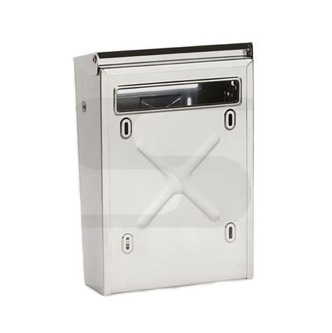 cassetta postale inox cassetta posta inox per recinzioni silmec 10 003 toolshop