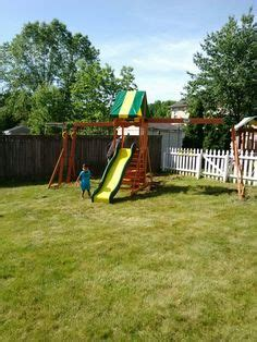 Backyard Discovery Windale Big Backyard Windale Playset From Toys R Us Installed In
