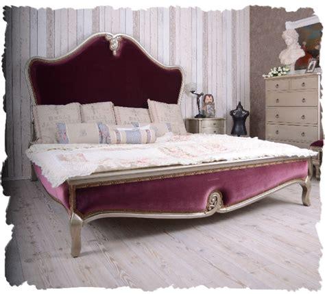 Französisches Bett Kaufen by Schlafzimmer Bett 180x200cm Doppelbett Barockstil Samt