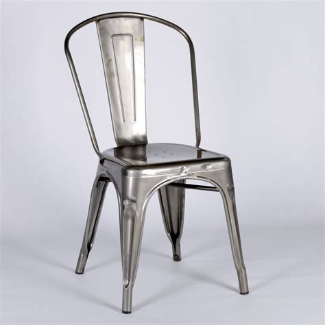 steel dining chairs vintage style metal steel industrial cafe dining chair