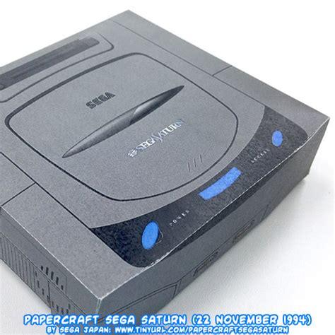 sega saturn 1994 ninjatoes papercraft weblog official 19th anniversary