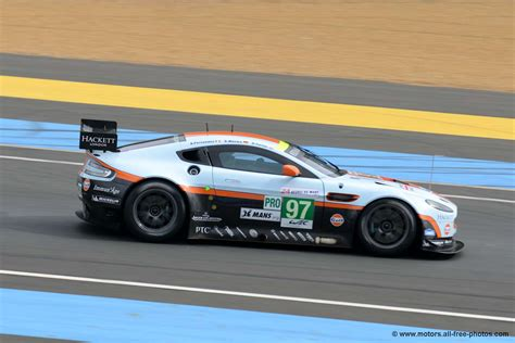 Aston Martin Racing Team Test Le Mans 2012 Aston Martin Vantage V8 Team Aston