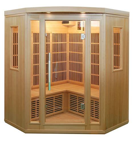 piscinex sauna duo sauna infrarouge quatuor 3 4 places