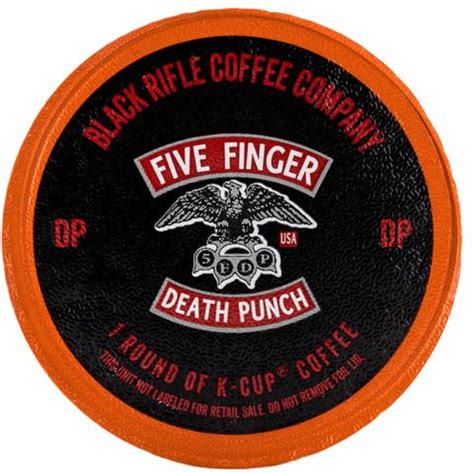 five finger death punch coffee death punch coffee rounds black rifle coffee company