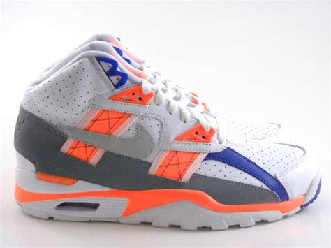 bo jackson shoes nike trainer sc 2013 bo jackson white orange blue auburn