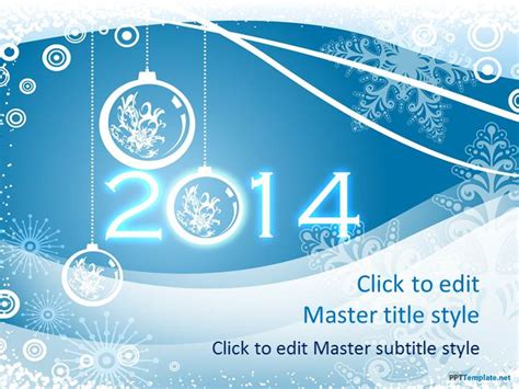 Free Winter 2014 Ppt Template 2014 Powerpoint Templates