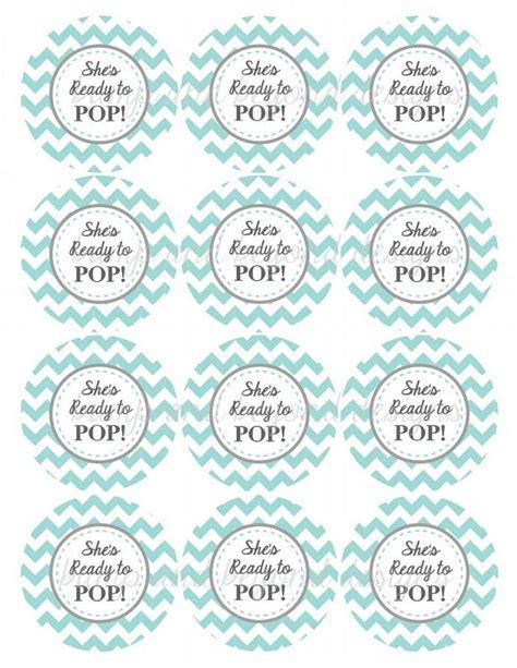 Ready To Pop Printable Boy Baby Bumpandbeyonddesigns Ready To Pop Labels Template Free