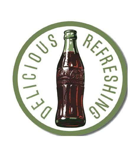 10 refreshing coca cola tattoos tattoodo coca cola refreshing metalen bord