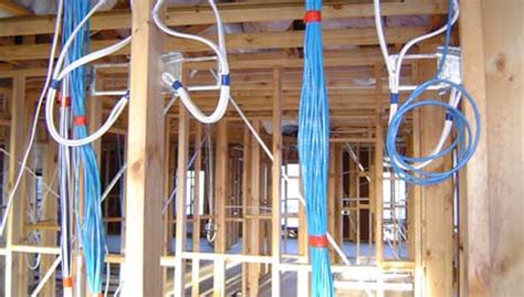 how to wire a house for cable tv homebuilders dream digital av