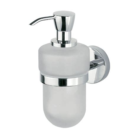Soap Dispensers For Bathrooms Inda Forum Wall Mounted Liquid Soap Dispenser 7 X 17h X 13cm Uk Bathrooms
