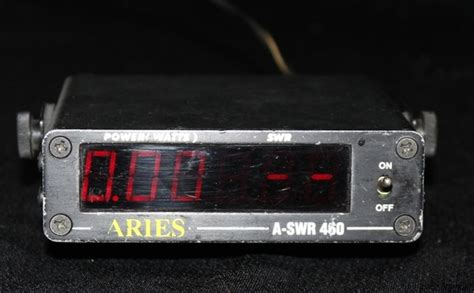 Swr Meter Digital used aries a swr 460 digital watt swr power meter ham cb radio ebay