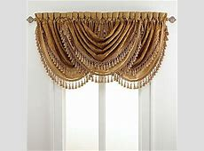 Chris Madden® Draperies, Bethany Waterfall Valance ... Jcpenney Curtains And Drapes
