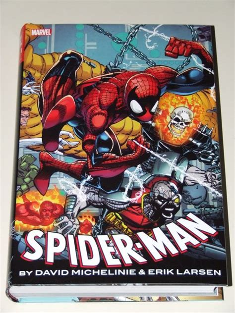 spider man by david michelinie 1302907026 spider man omnibus hc by david michelinie and eric larsen oversized hardcover with dust jacket