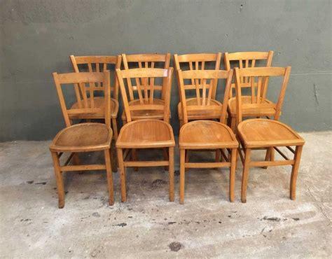 Chaise Bistrot Baumann by Ensemble De 8 Chaises Bistrot Style Baumann
