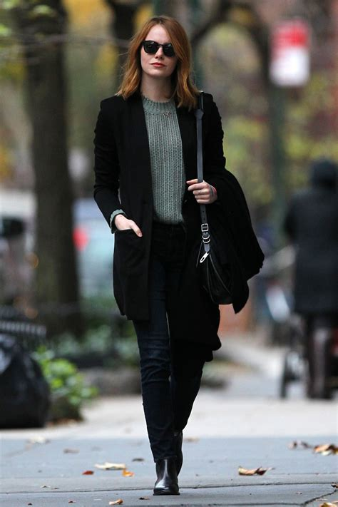 emma stone casual style emma stone casual style new york city 11 18 2015