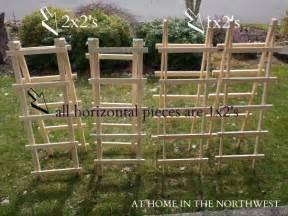 building trellises garden trellis tutorial